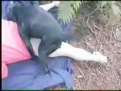 theresome with girlfrend and her dog