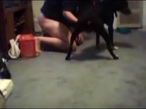 Amateur Webcam Dog girl test BLUEdog